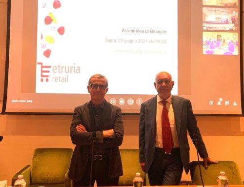 Etruria retail: nel 2020 fatturato di 253 milioni di euro