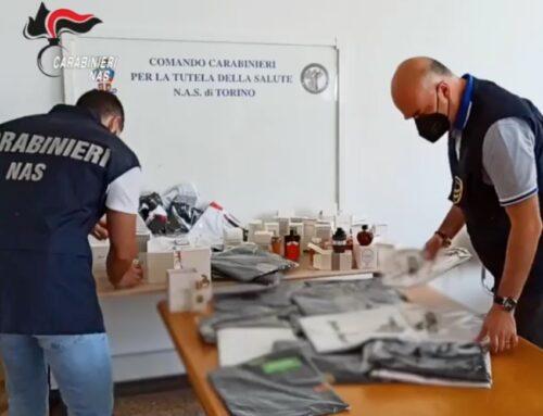 Nas Torino: perquisizioni di profumi e altri articoli per circa 80mila euro