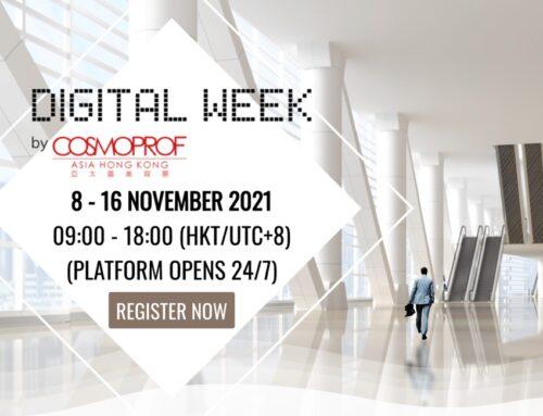 Cosmoprof Asia Digital Week: dall'8 al 16 novembre oltre 10mila visitatori connessi