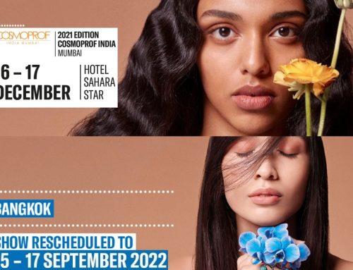 Cosmoprof torna a dicembre in India, ma rimanda l'edizione di Bankok